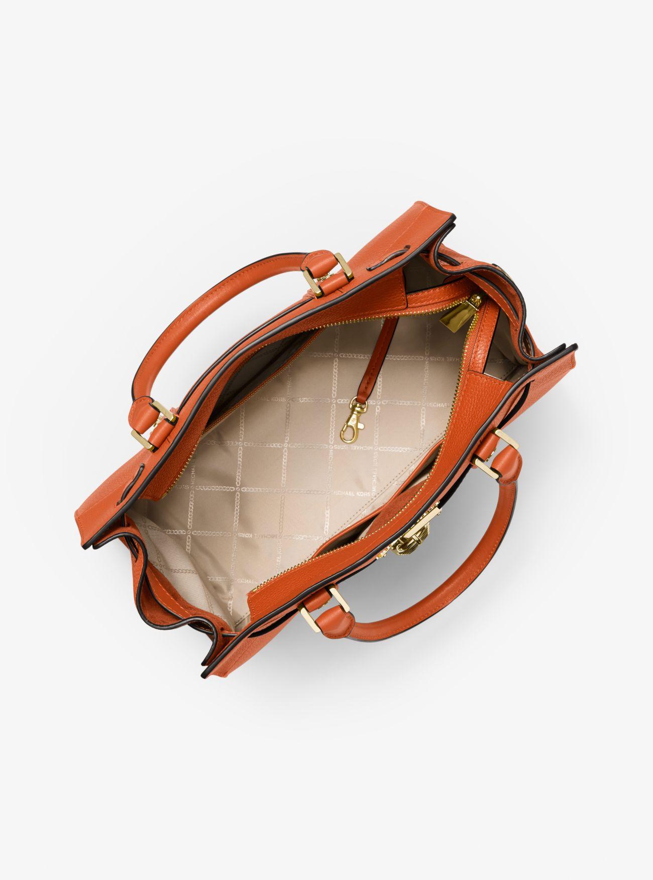 4c5055d90a20b Nouveau Hamilton Large Pebbled Leather Satchel Nouveau Hamilton Large  Pebbled Leather Satchel ...