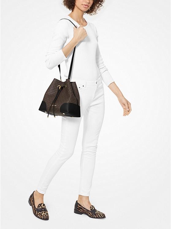 Mercer Gallery Medium Logo Shoulder Bag