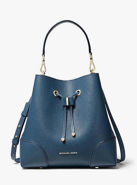 c84b5bd5fa745 Mercer Gallery Medium Pebbled Leather Shoulder Bag