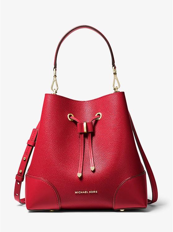Michael Kors Medium Pebbled Leather Shoulder Bag $178.80