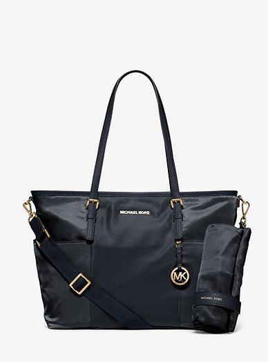 34e29bf8d96063 Jet Set Large Nylon Diaper Bag | Michael Kors