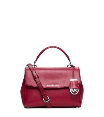 3a7aa3d82f0d3 Ava Small Patent Saffiano Leather Crossbody Satchel