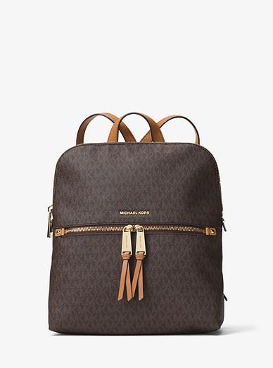 e531335c34e1 Rhea Medium Slim Logo Backpack | Michael Kors