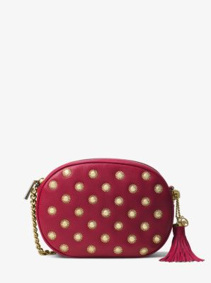 0a632aeb9090 Ginny Medium Studded Leather Crossbody. Find a Store. Sign Up for updates  from Michael Kors