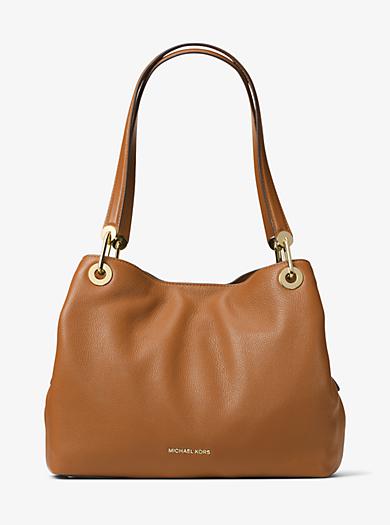 5da39fd5f16b1 Raven Large Leather Shoulder Bag