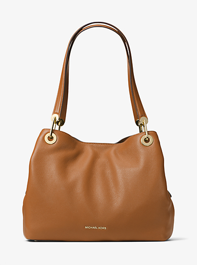 89c6acc1ea63e Raven Large Leather Shoulder Bag