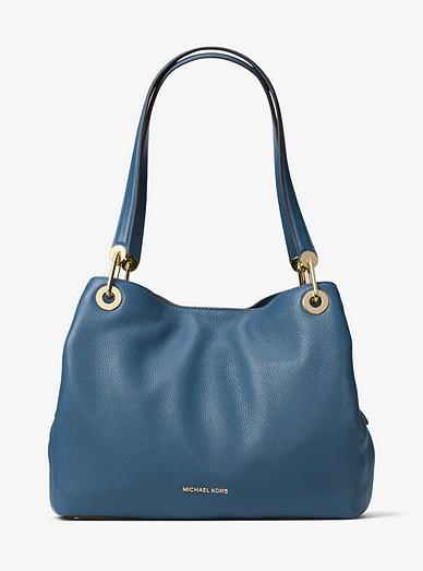 8cfa0960e10f Raven Large Leather Shoulder Bag