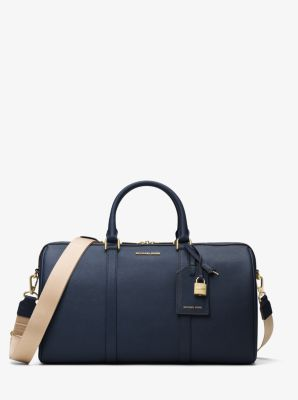 Jet Set Travel Large Leather Weekender Michael Kors