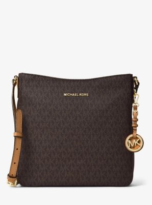295caaee9d4 Jet Set Travel Large Logo Messenger   Michael Kors