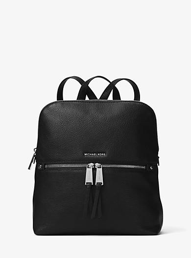 eb0b0e5f2fed Rhea Medium Slim Leather Backpack