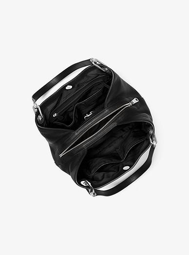 Grand sac porté épaule Raven en cuir