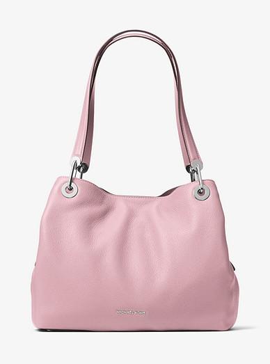 2238833e8f49 Raven Large Leather Shoulder Bag | Michael Kors