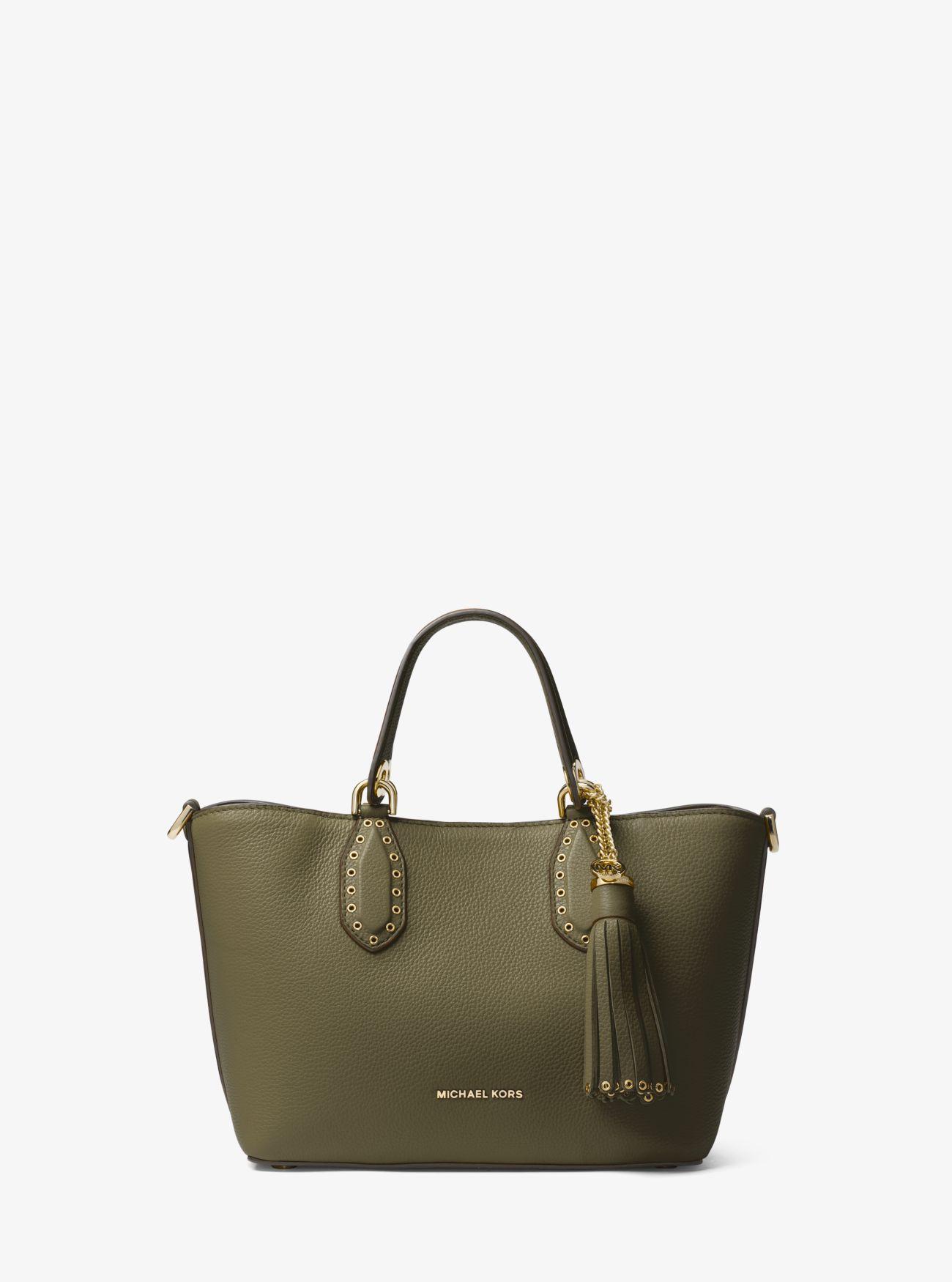 02c350d896a ... Brooklyn Small Leather Satchel Brooklyn Small Leather Satchel. MICHAEL  Michael Kors