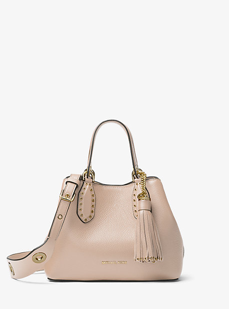 13f1793bd032 Brooklyn Small Leather Satchel. Find a Store. Sign Up for updates from Michael  Kors