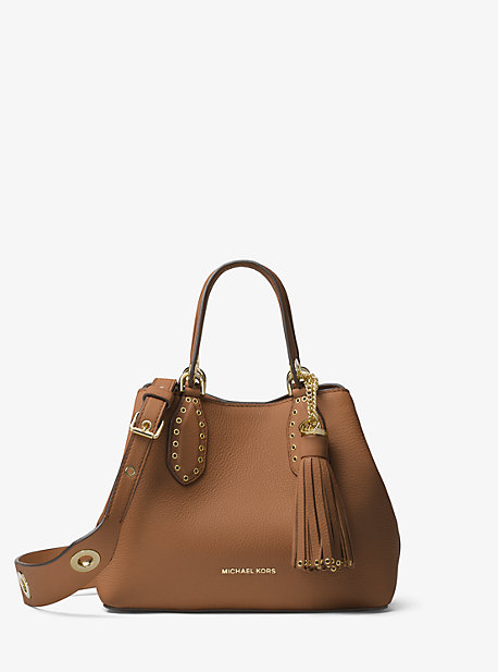 Brooklyn Small Leather Satchel