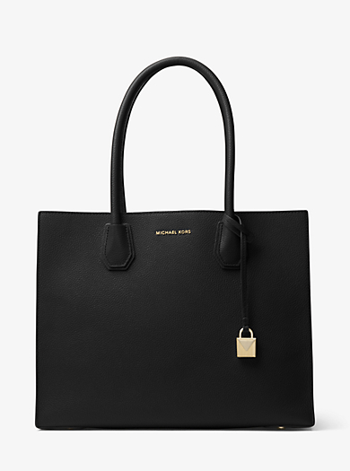 Mercer Extra Large Leather Tote Michael Kors