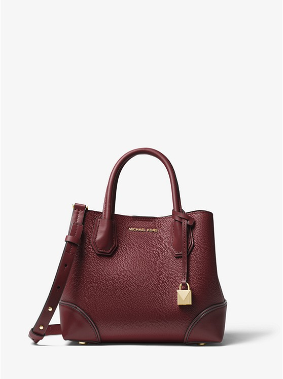 d1e0e01ed Mercer Gallery Small Pebbled Leather Satchel | Michael Kors