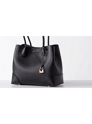 eabd735640c8 Mercer Gallery Medium Leather Satchel | Michael Kors