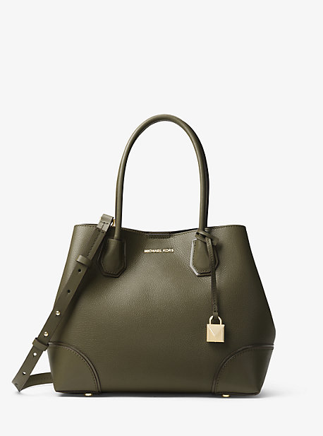 d8085d782 Mercer Gallery Medium Leather Satchel | Michael Kors