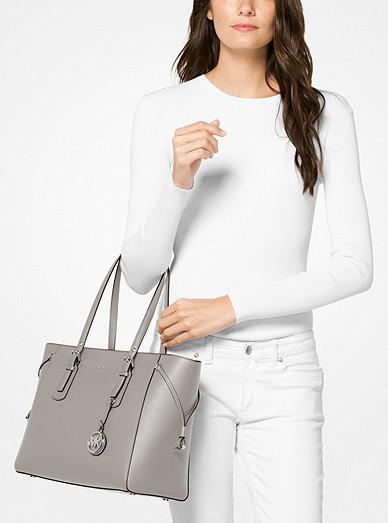 cbc909c836 Voyager Medium Crossgrain Leather Tote Bag