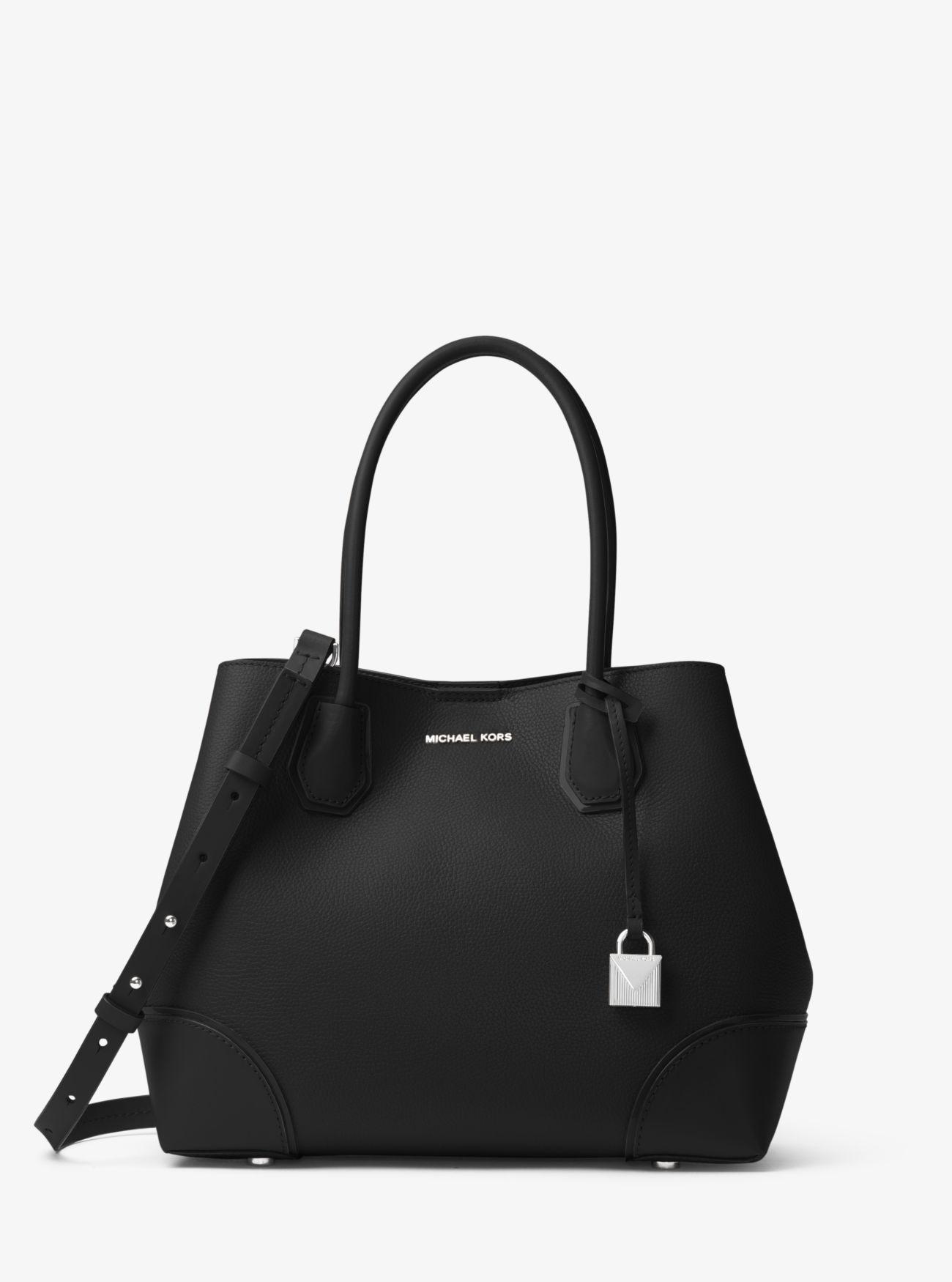 Mercer Gallery Medium Leather Satchel | Michael Kors