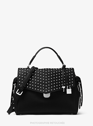 5a9b5a4f3d76 Bristol Studded Leather Satchel · michael michael kors · Bristol Studded  Leather Satchel