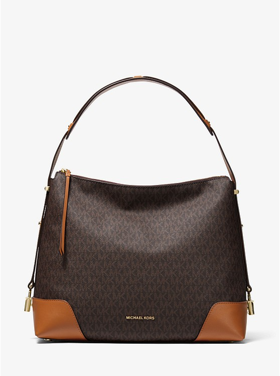 8b61b88bbed6 Crosby Large Logo Shoulder Bag | Michael Kors