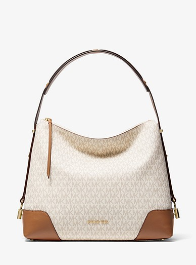 Crosby Large Logo Shoulder Bag Michael Kors