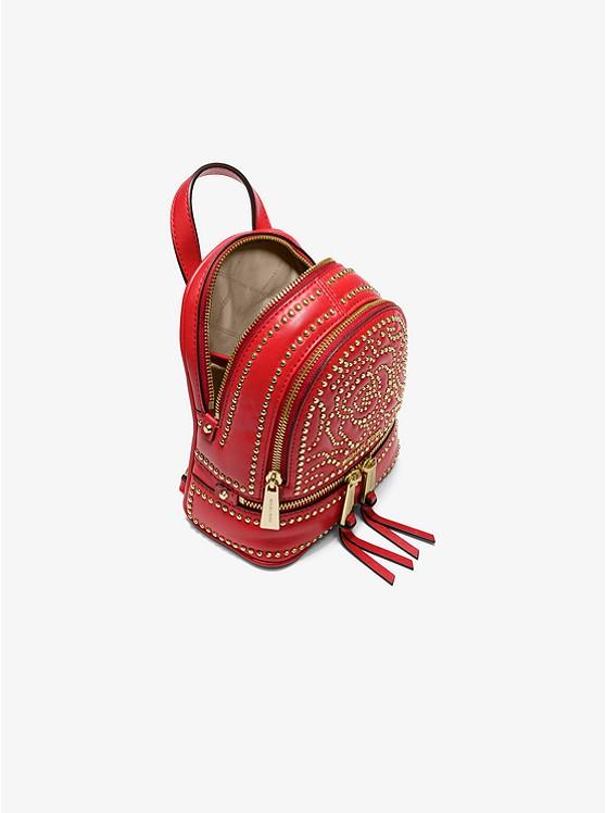 ae7f2dac0283 Rhea Mini Rose Studded Leather Backpack Rhea Mini Rose Studded Leather  Backpack ...
