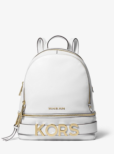 dc91d400314c Rhea Medium Embellished Leather Backpack | Michael Kors