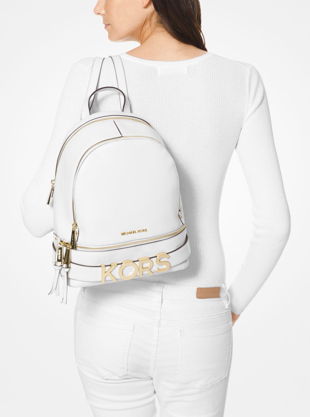 894312d2cd ... Rhea Medium Embellished Leather Backpack