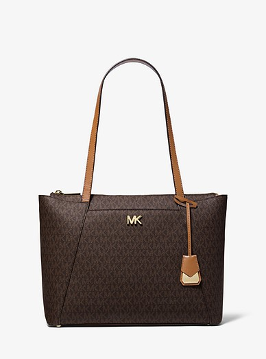 6a6cd88fd8005d Maddie Medium Logo Tote Bag   Michael Kors