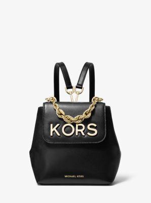 7388d173e592 Mott Extra-Small Embellished Leather Backpack | Michael Kors