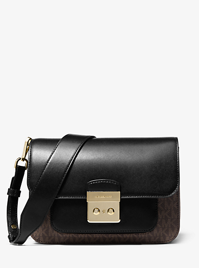 Sloan Editor Logo and Leather Shoulder Bag · michael michael kors · Sloan  Editor ... 472be5e84c
