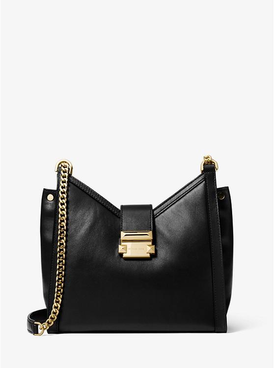 Whitney Small Leather Shoulder Bag | Michael Kors