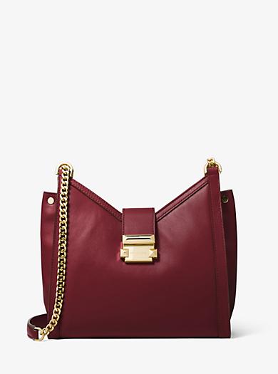 Whitney Small Leather Shoulder Bag Michael Kors