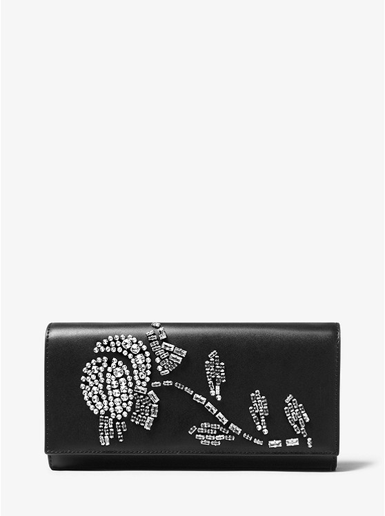 33d51c8b1d7e Bellamie Embellished Leather Clutch