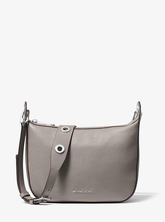 ac5551ed2846 Barlow Medium Pebbled Leather Messenger Bag | Michael Kors