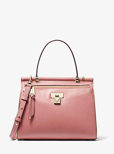Jasmine Medium Leather Satchel  c72515f5d8869