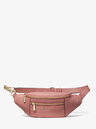 d1ccb9f321a31b Medium Leather Belt Bag | Michael Kors