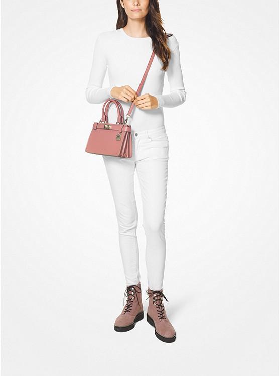 808e238c98632f Tatiana Mini Leather Satchel | Michael Kors