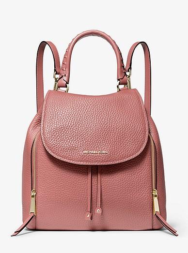 096f8c872e89 Viv Large Pebbled Leather Backpack | Michael Kors