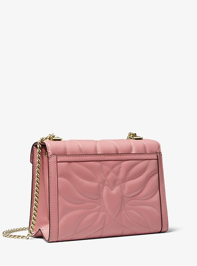 f0f3a6d58f862 Whitney Large Petal Quilted Leather Convertible Shoulder Bag