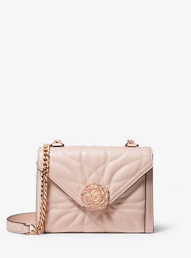 1a4695f43f Whitney Small Petal Quilted Leather Convertible Shoulder Bag ...
