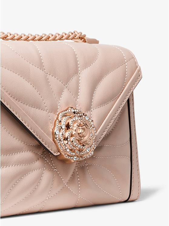 7a5b30c49c66 Whitney Small Petal Quilted Leather Convertible Shoulder Bag ...