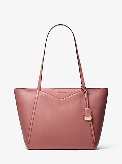 Whitney Large Pebbled Leather Tote Michael Kors