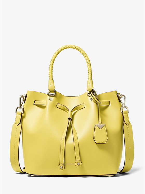 Blakely Medium Leather Bucket Bag