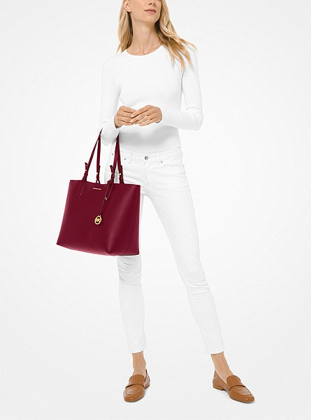 Cameron Large Leather Reversible Tote Bag