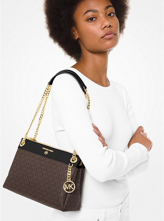 Susan Small Logo Convertible Shoulder Bag