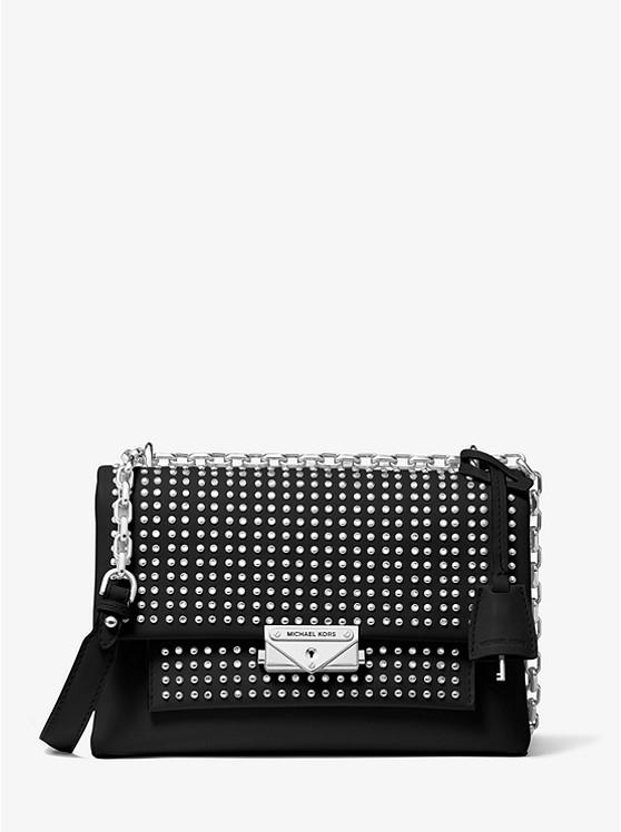 Cece Medium Studded Leather Convertible Shoulder Bag